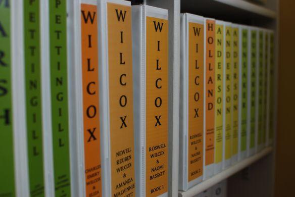 binders glorified  genealogy research and organization