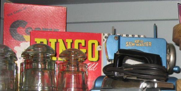 connie ward girl with a past genealogy blog cootie bingo vintage heirloom memorabilia toy sewing machine iron