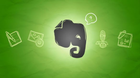 The Evernote elephant remembers everything!