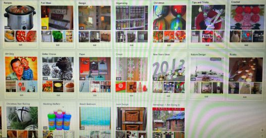 Some of my Pinterest boards
