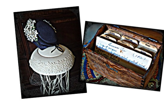 connie ward girl with a past blog family history genealogy keepsakes antique hats recipe box