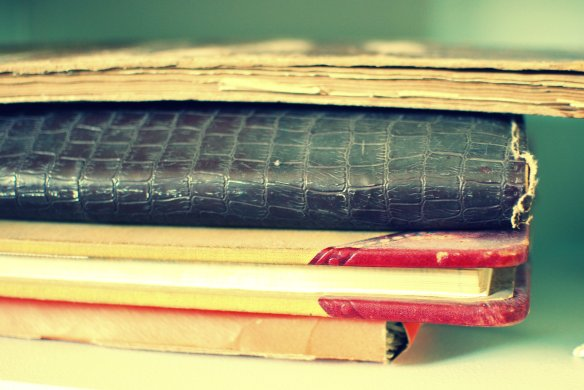 Some old journals that I have inherited.