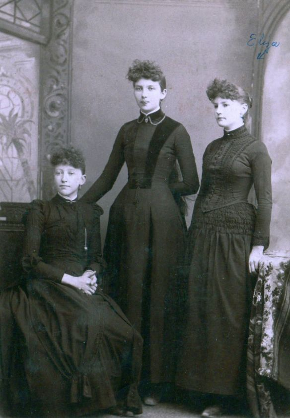 Eliza Snow Lyon on the right and her sisters