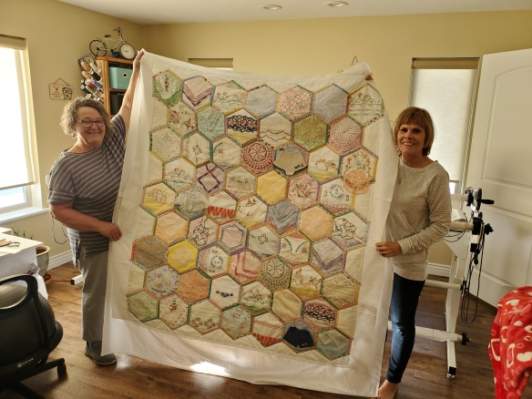 connie ward girl with a past family history genealogy heirloom quilt Debra Holmes pillowcases vintage linens doilies hankies Elaine Shuman Elna Hunsaker Edith Bronson Emma Ohman