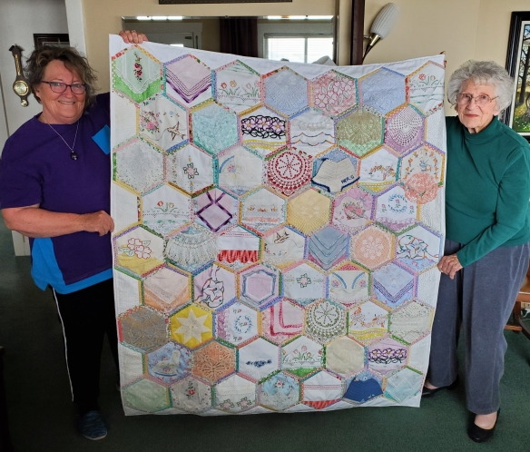 connie ward girl with a past family history genealogy heirloom quilt vintage linens pillowcases doilies hankerchiefs Edith Bronson