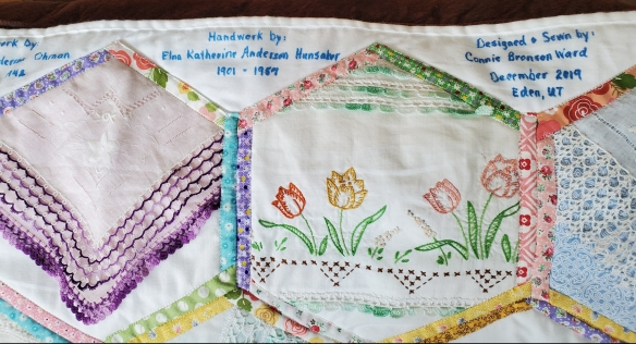 connie ward girl with a past family history genealogy heirloom quilt vintage linens pillowcases handkerchiefs doilies